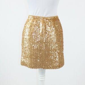 NANETTE LEPORE Skirts - Warm brown NANETTE LEPORE stretch skirt M